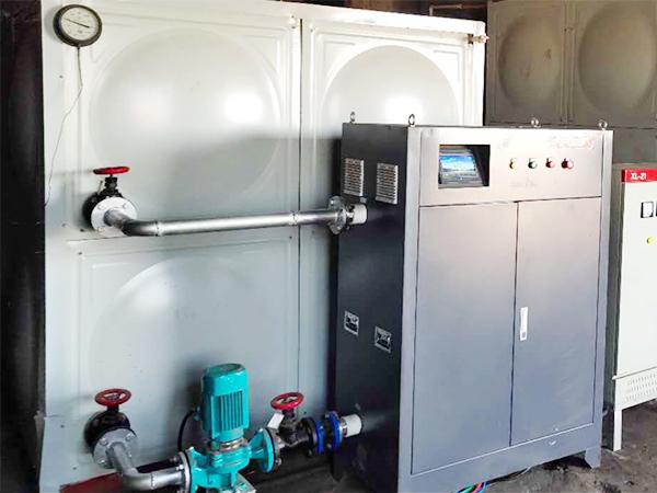 1200平蓄热式供暖案例